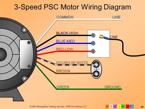 blower motor capacitor wiring