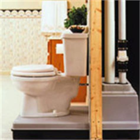 basement toilet system 301 moved permanently