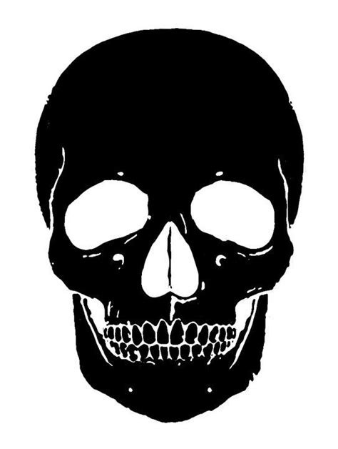 17 Best Images About Stencil Ideas On Pinterest Rose Skull Cut Out Template