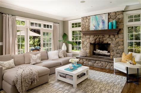 staging a living room staging traditional living room new york by en vue staging
