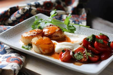 day dinner recipes for two valentine s day seared scallops dinner for two