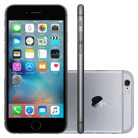 iphone 6s apple 64gb cinza espacial 4g ios 9 3d touch chip a r 5 373 70 em mercado livre