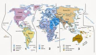 travel trade hub iata areas map