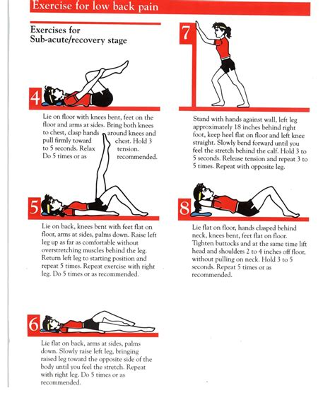 home exercise plan spinal wellness for neck pain page 1