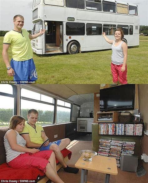 autobus casas autobus noge ya tenemos las llaves de nuestra casa