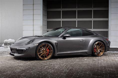 porsche carrera 911 4s porsche 911 carrera 4s shows off topcar s stinger body kit