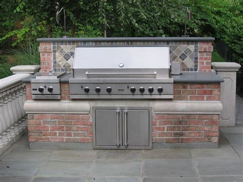 Backyard Grille Outdoor Kitchen Bar Design Saddle River Nj Cipriano Landscape Design And Custom Swimming Pools