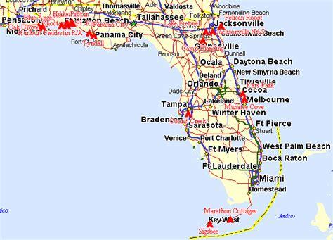 florida cground map fl florida