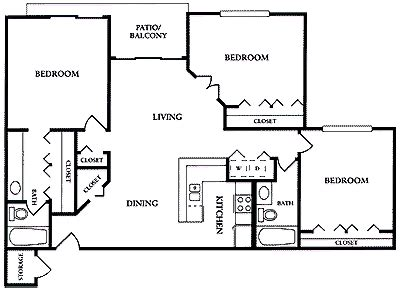 fau floor plan boca raton apartment fau rental br303 3 bedroom floor plans