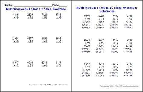 preguntas matematicas que no tienen respuesta fichas de multiplicaciones con respuestas matem 225 ticas gratis
