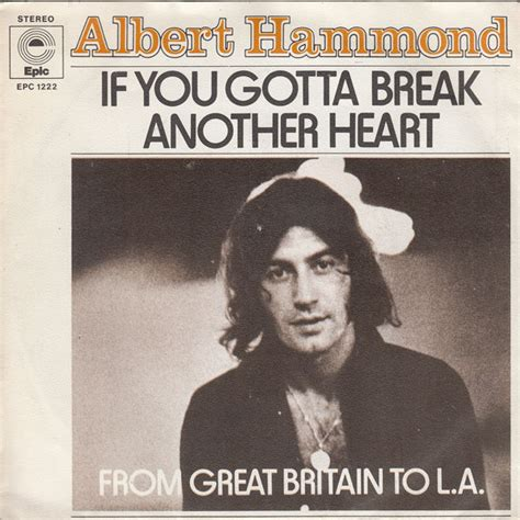 Another Breakup by 45cat Albert Hammond If You Gotta Another