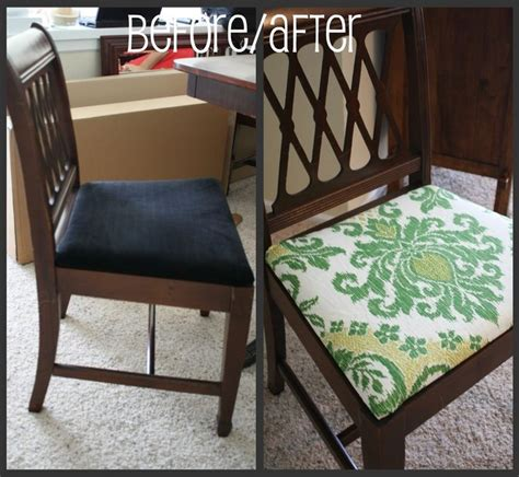 dining room chair reupholstering best 25 recover dining chairs ideas on