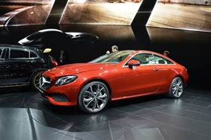 2018 mercedes e class coupe adds style to mid size