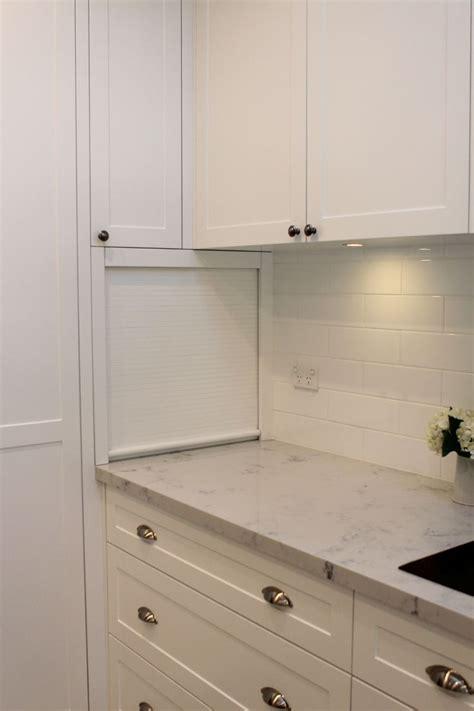 appliance cabinet roller door 20 best images about kitchen cabinet on pinterest