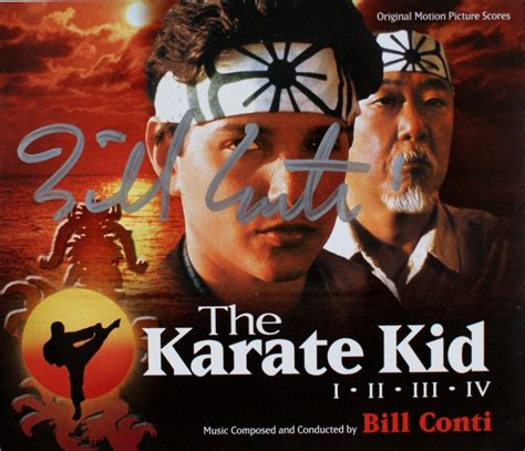 theme music karate kid bill conti composer for film and tv