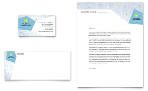 networking card template letterhead designs business letterhead templates