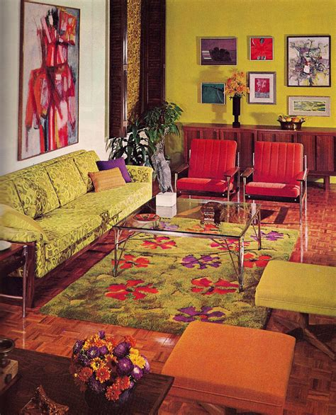 60s decor vintage interior design the nostalgic style