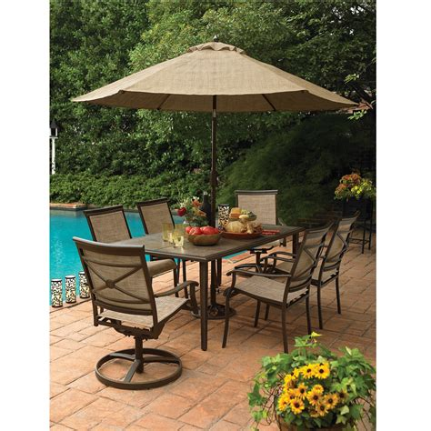 Sears Outdoor Patio Furniture Country Living As J 252 3rset7 Ashmore 7 Dining Set Sears Outlet
