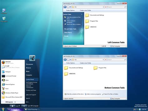 free download themes for windows 7 with taskbar windows 7 theme for vista and xp