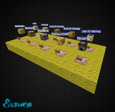 bee mine craft quot bee keeping collection quot decoration player heads