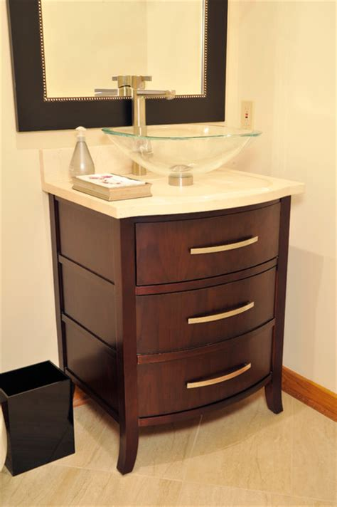 Powder Room Vanities by Unique Powder Room Vanity Traditional Bathroom St