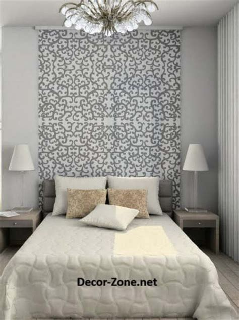 ideas for bed headboards bed headboards ideas to make a diy headboard with wallpaper