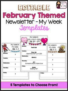 This 2 Page Newsletter Template Is A Powerpoint File That You Can Edit With Your Own Information Special Education Newsletter Template