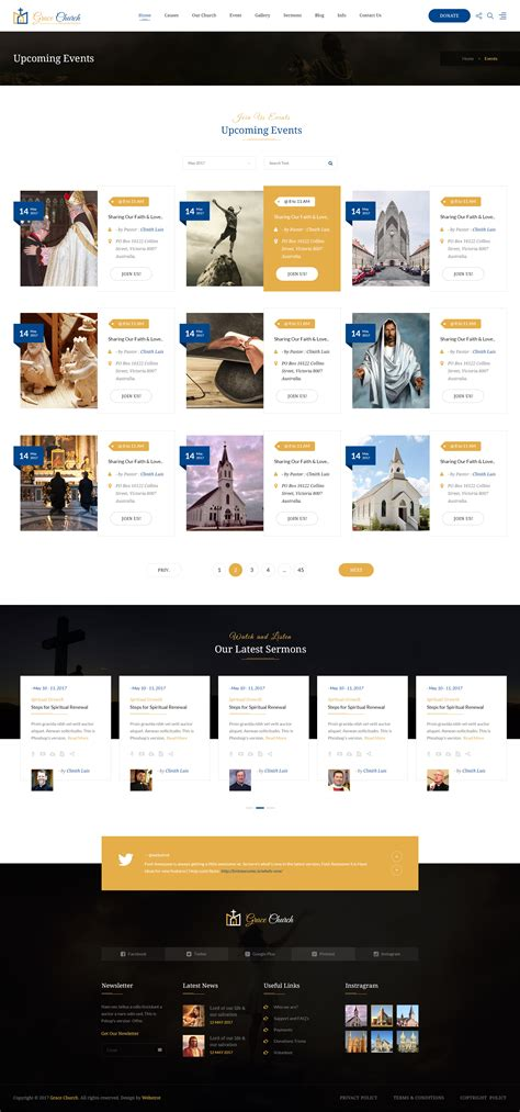 bootstrap templates for charity grace church charity church bootstrap psd template by