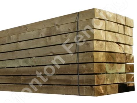 New Wooden Sleepers by Tanalised Sleepers
