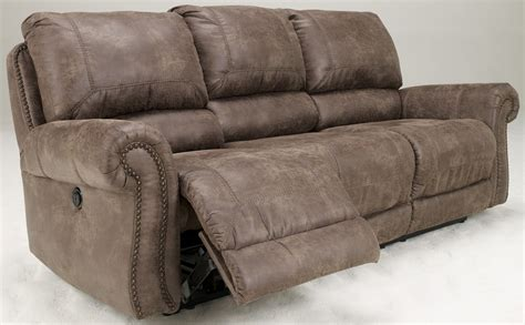 recliners sofas oberson gunsmoke reclining sofa 7410088 ashley furniture