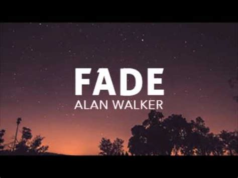 download mp3 song alan walker fade alan walker fade ncs youtube