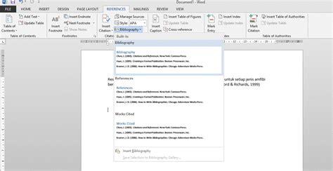 cara membuat daftar pustaka yang rapi cara membuat daftar pustaka dengan ms word irvan f