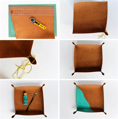 Diy Leather by Diy Cross Stitch Leather Catchall