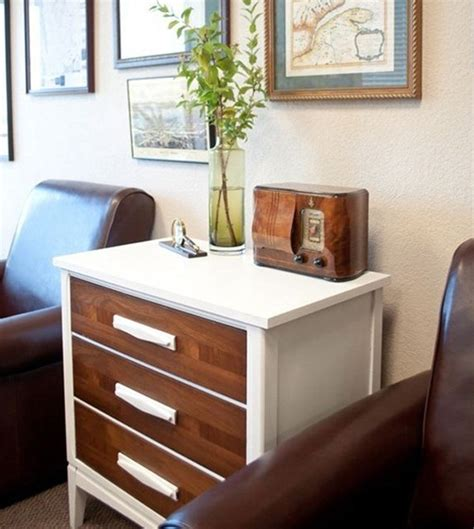 White And Brown Dresser by 15 Eye Catching Dresser Diys