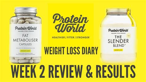 Protein World protein world review week 2 donna dyble weight loss diary
