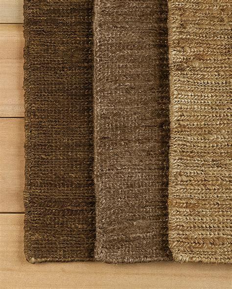 braided hemp rug