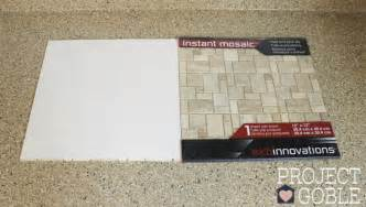 how to install a peel stick mosaic tile kitchen