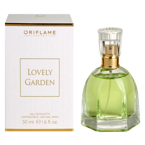 oriflame lovely garden eau de toilette for 50 ml
