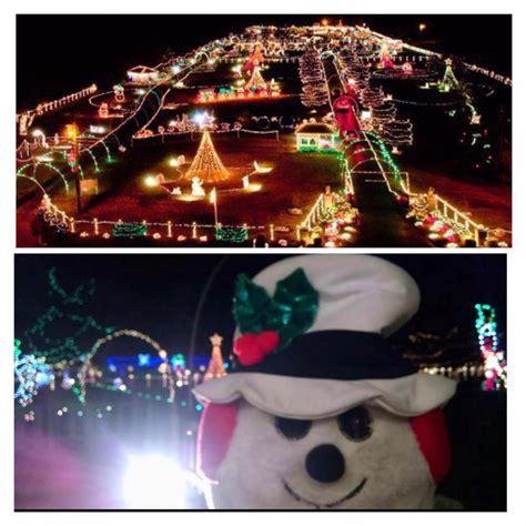 drive through christmas light milton fl