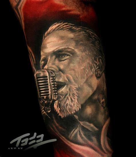 james hetfield tattoos hetfield of metallica by todo tattoonow