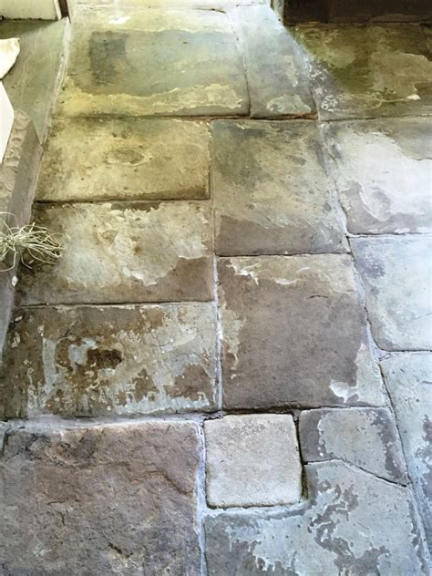 300 year flagstone tiles treated for shaling issues in