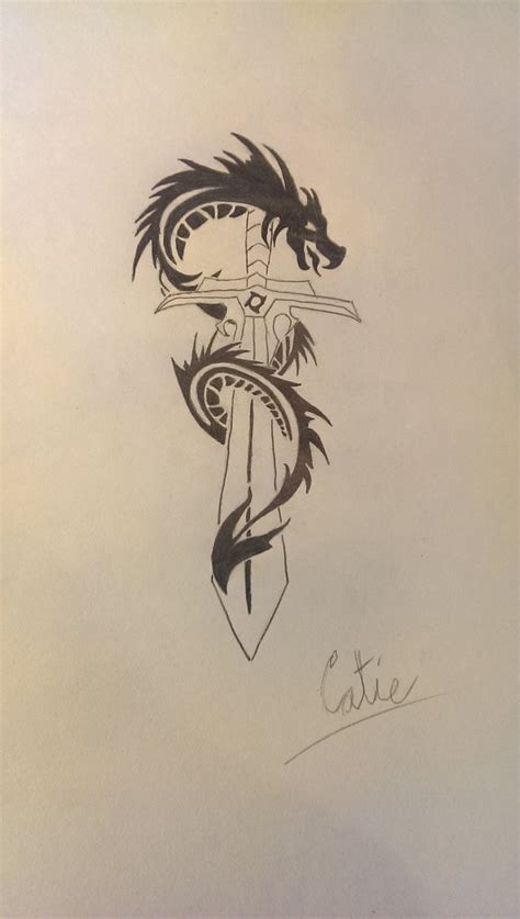 tribal sword tattoo sword tribal design by icebluerain on deviantart