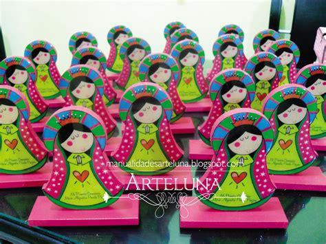 decoracion con virgencitas porfis arte luna tarjetas primera comunion y detalles virgencita