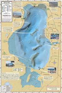 rock map rock lake fold map