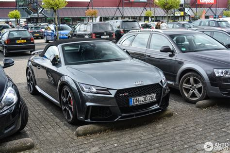 Audi Tt Roadster Preis by Audi Tt Rs Roadster 2017 24 April 2017 Autogespot
