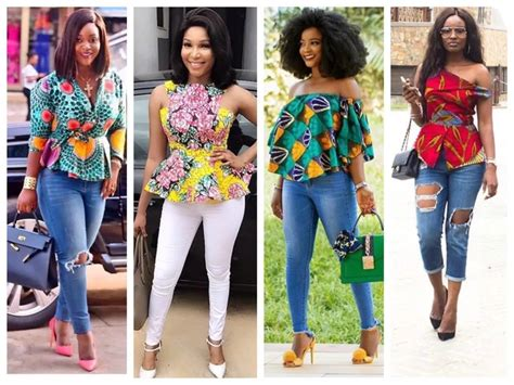 ankara tops styles ankara trouser and top styles for ladies naija ng