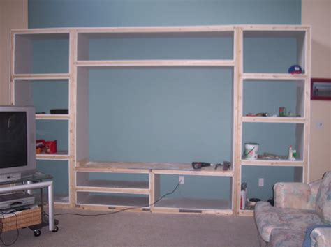 diy wall unit entertainment center home entertainment center we can make a built in