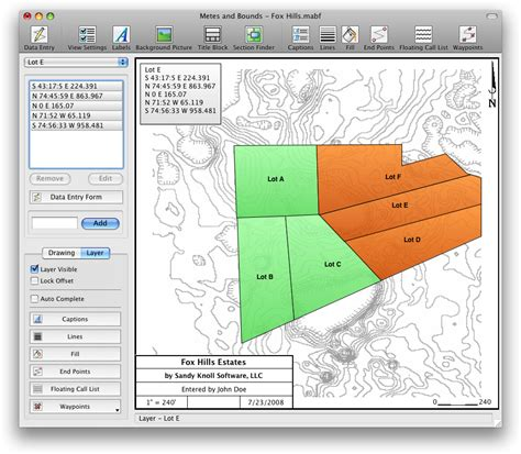 plot plan software free land mapping and land plotting software