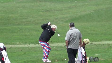 john daly swing slow motion john daly 2013 pebble beach range session swingvision slow