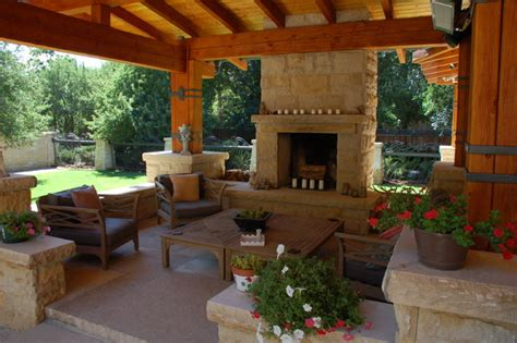 Backyard Porch Designs For Houses by Craftsman Style New House Traditional Patio Denver
